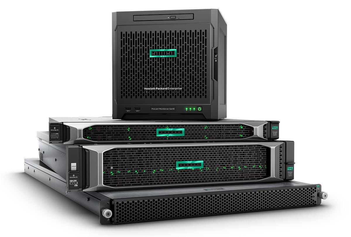 HP Enterprise Serverlösungen