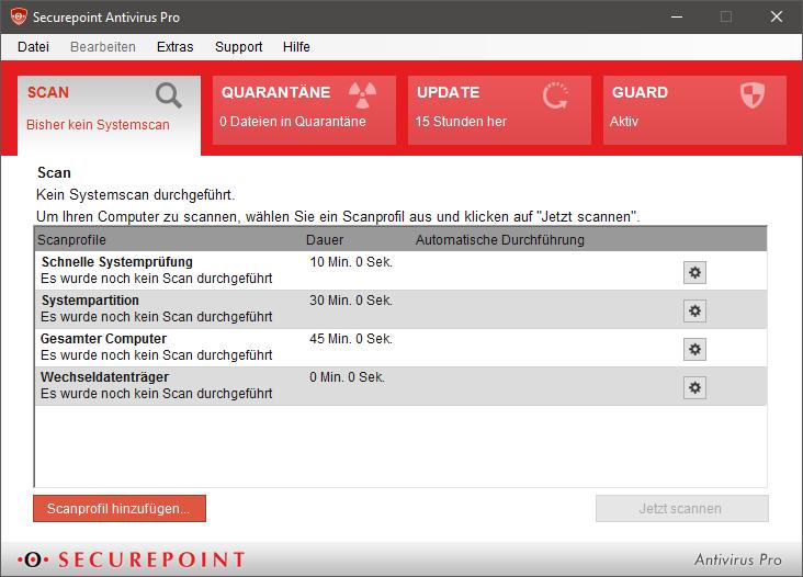 Securepoint Anitvirus Pro